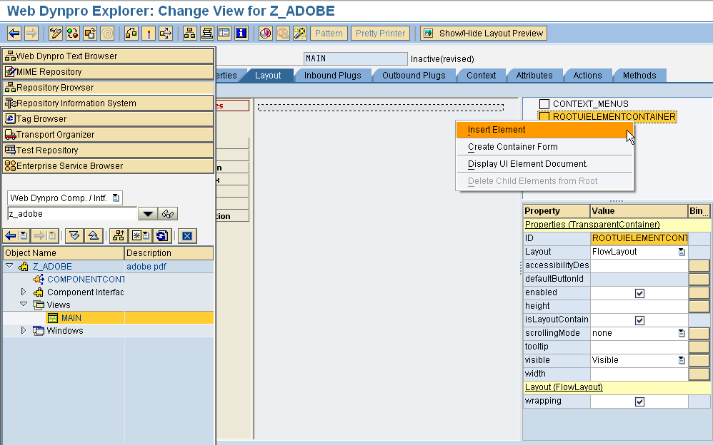 Web Dynpro for ABAP Tutorials for Beginners