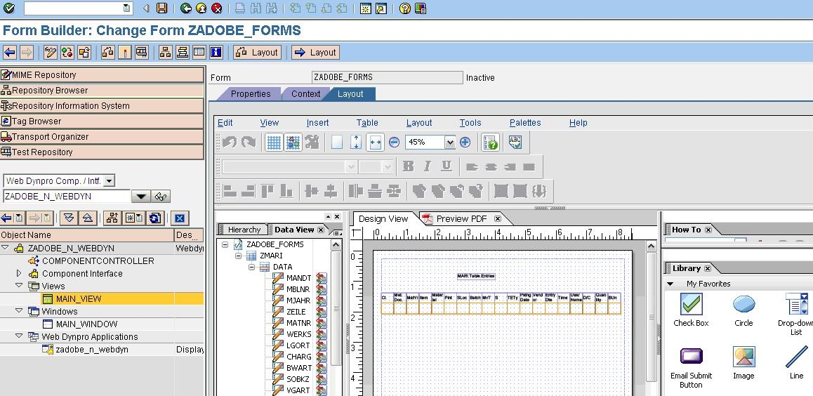 Call Adobe Form through ABAP Web Dynpro - Web Dynpro ABAP - SCN Wiki