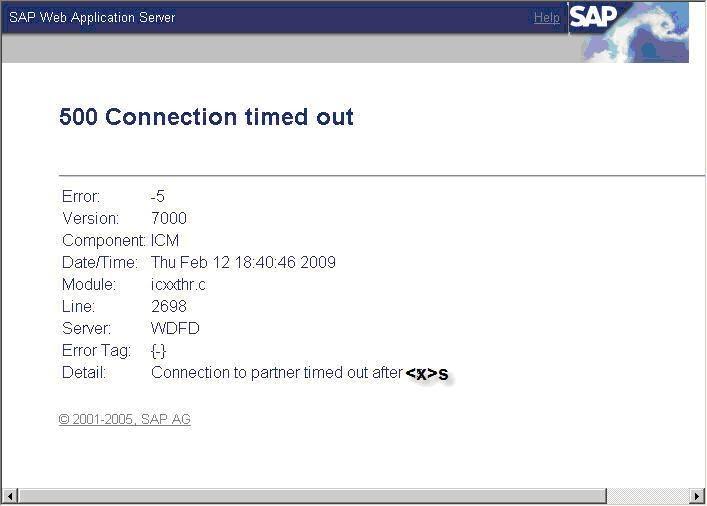 Java Connection Timeout Default