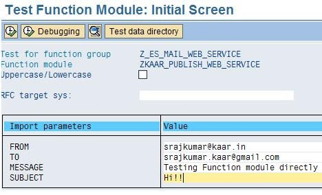Publish Webervice in ABAP, Consume Webservice in ABAP and