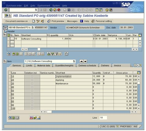 service package - erp scm