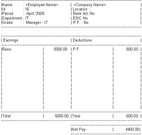 HR Forms ABAP Development SCN Wiki – Simple Salary Slip Sample