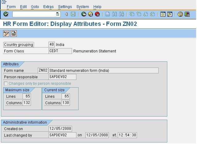 Hr Forms  Abap Development  Scn Wiki