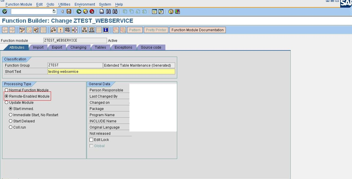 Creating Web Service in SAP CRM - ERP Technology Blog