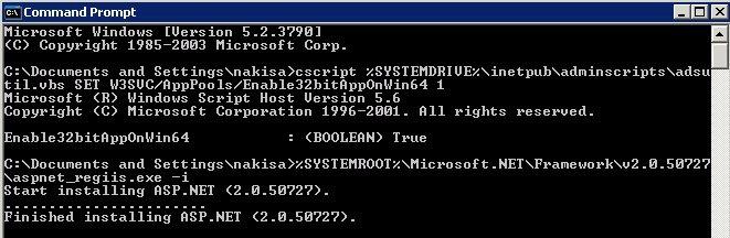 net framework 2.0.50727