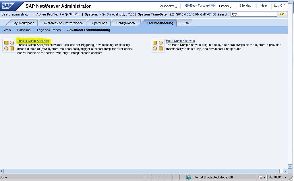 JSTTSG)(Deploy)Thread Dump - SAP Netweaver Application