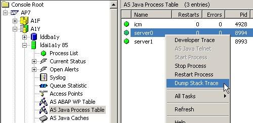 JSTTSG)(Deploy)Thread Dump - SAP Netweaver Application Server Java