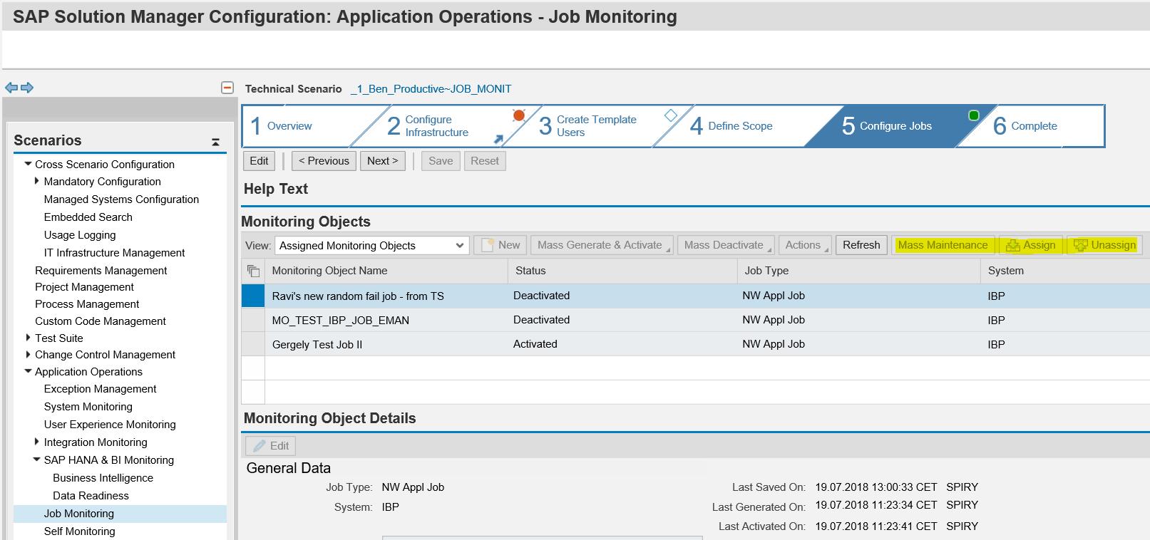 FAQ Job Management - Solution Manager - SCN Wiki
