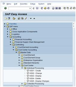 How To Create A Cost Centre Erp Financials Scn Wiki