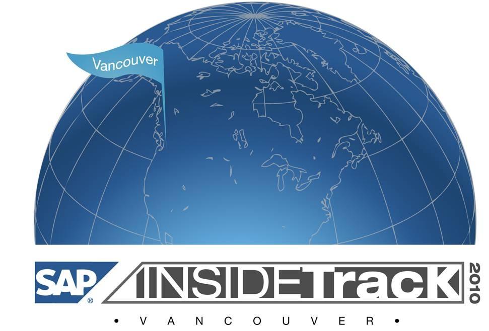 SAP InsideTrack 2010 Vancouver
