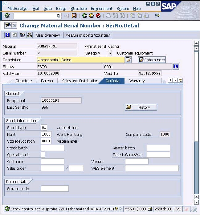 Serial Numbers in Delivery - ERP SCM - SCN Wiki