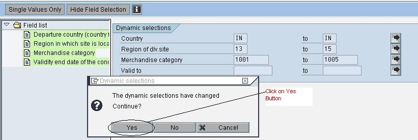 Dynamic Report for Pricing Conditions Master Data - ABAP