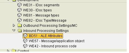 Configuring Process codes for Inbound Idocs in SAP