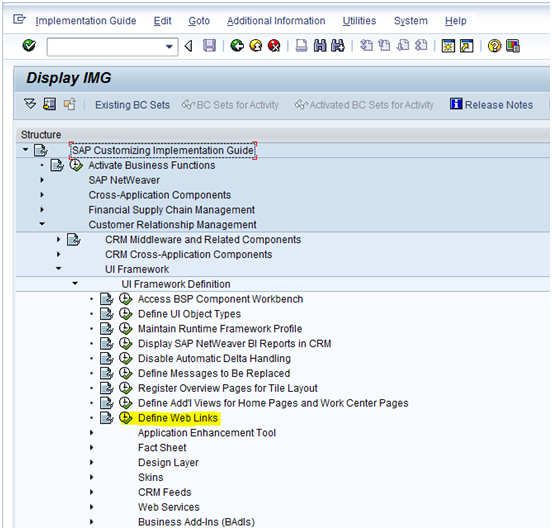 Adding Widgets on WEB UI Home page - CRM - SCN Wiki