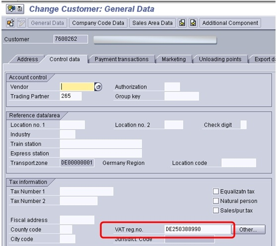 SAP - INTRASTAT Dispatch Procedure within EU Countries - ABAP