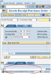 Goods Receipt Valuation For Purchase Order With Taxes