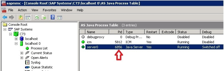 How to create a heap dump of the Application Server Java