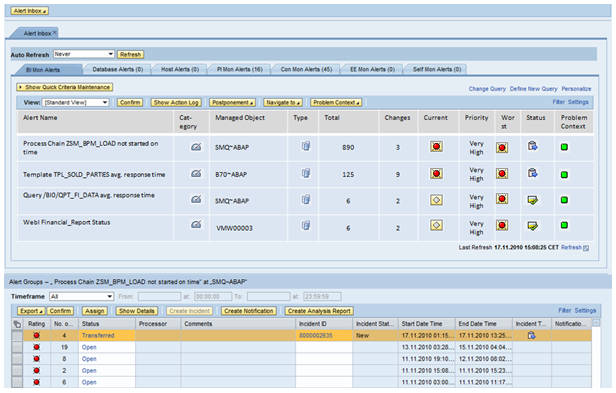sap call report theme