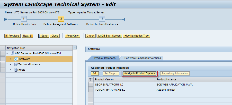 sap system application product Managed System Setup of BOE 4.X system in Solman 7.1 and 7.2 - SAP ...