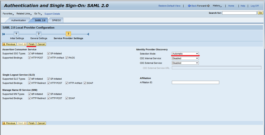 Single Sign-On with SAML 2 0 and ABAP Systems Supporting SAP