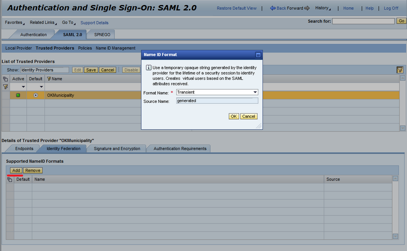 Single Sign-On with SAML 2 0 and ABAP Systems Supporting SAP Logon