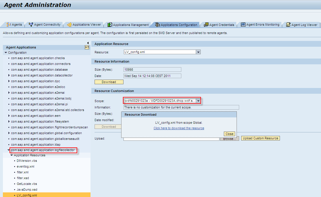 Managed System Setup of Apache Tomcat System in Solman 7 1