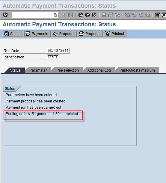 sap how to create payment document for checks