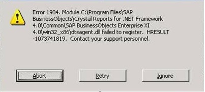 Deploying Crystal Reports for Visual Studio 2010 Runtime - Business