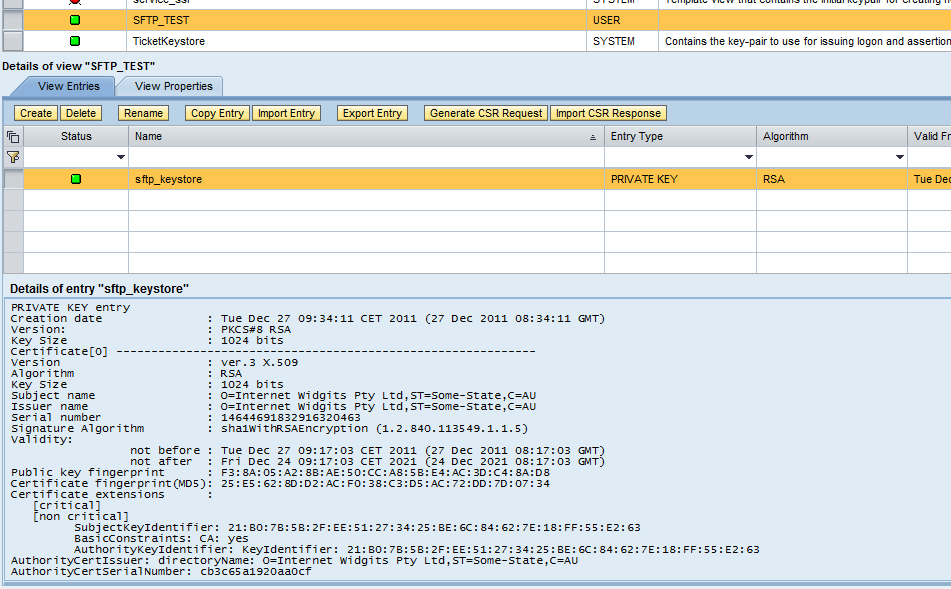 Generating Ssh Keys For Sftp Adapters Type 1 Process Integration