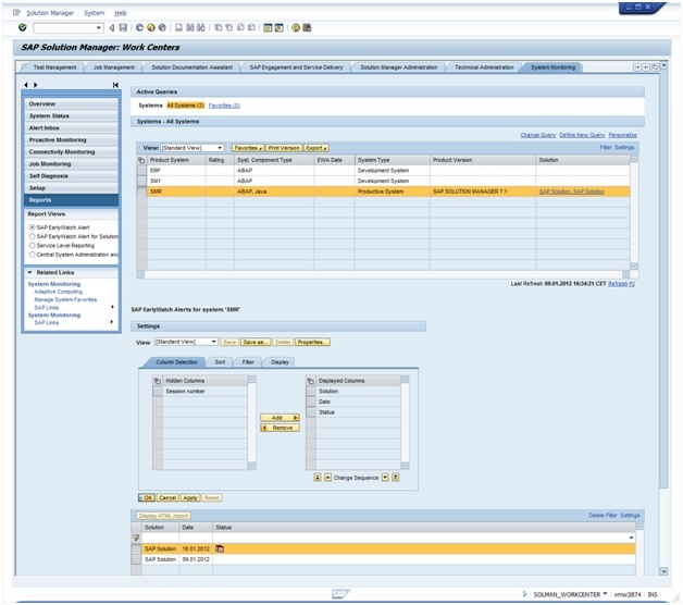 How To Create An Ad Hoc Ewa Report In Solution Manager