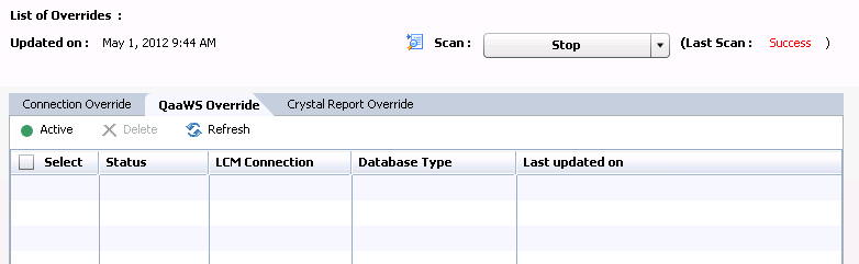 Lifecycle Manager Overrides in BI4 - Business Intelligence