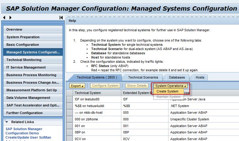 managed system setup of oracle weblogic in solman 7 1 sap solution rh wiki scn sap com sap solution manager configuration guide On Hana SAP Solution Manager