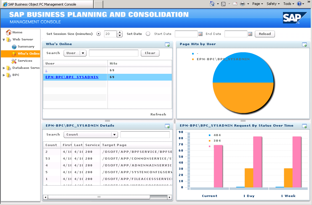 SAP Business Planning and Consolidation Training