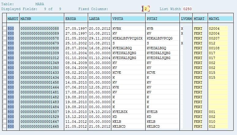 SAP Basis For Beginner: How to list user logon data with SE16