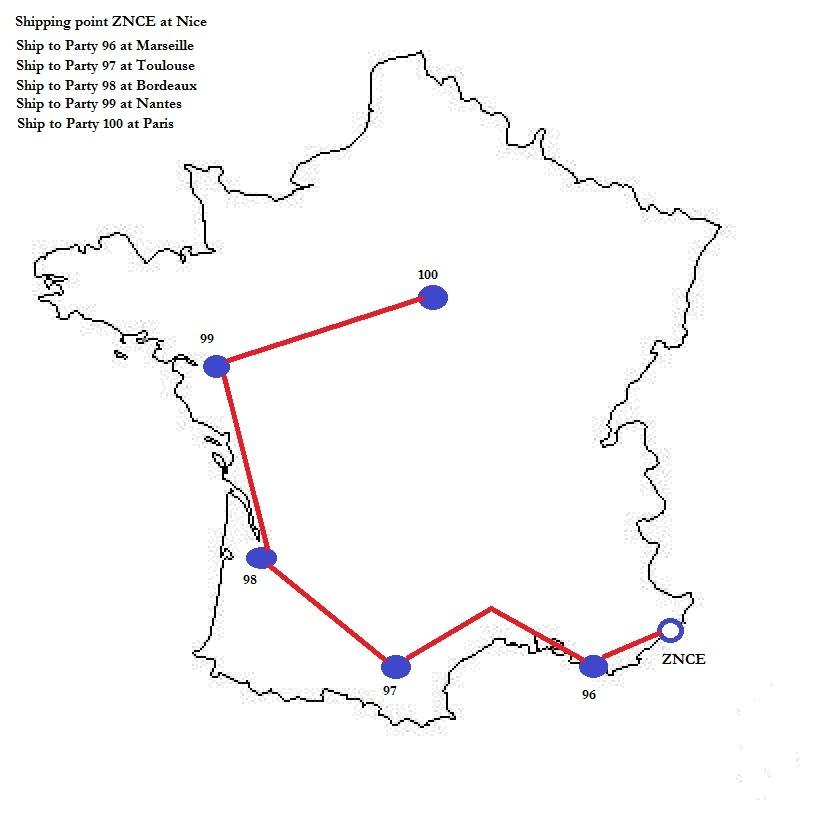 Route Schedule - Supply Chain Management (SCM) - SCN Wiki