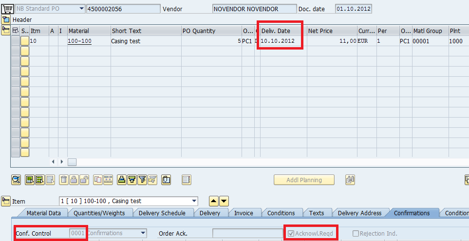 Output Message Type Aufb Dunning Order Confirmation Erp