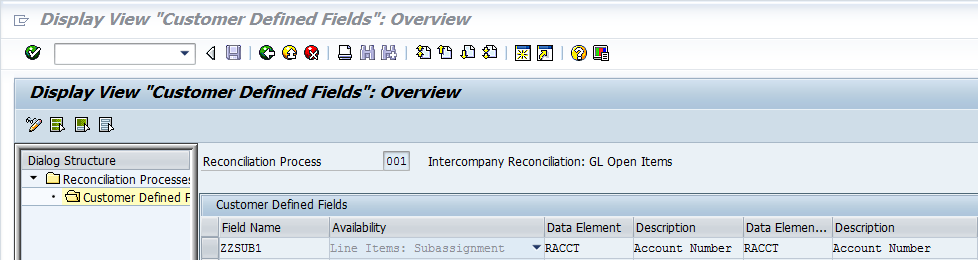 Object groups and customer fields for intercompany