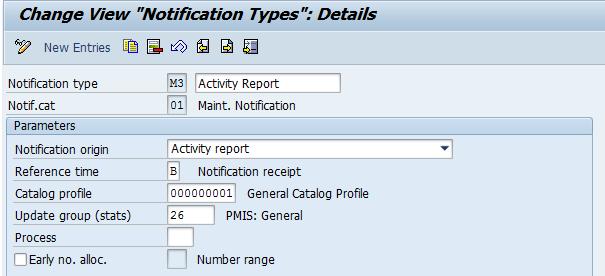 Activity Report - SAP Enterprise Asset Management (Plant