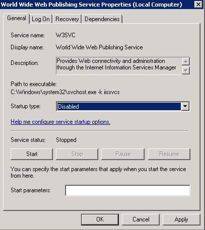Installing Apache 2 4 as a service - Business Intelligence