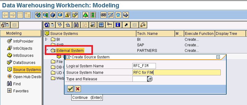 how to create program id in sap