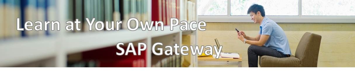 SAP Gateway Self-Paced Learning - Technologies [Read-only