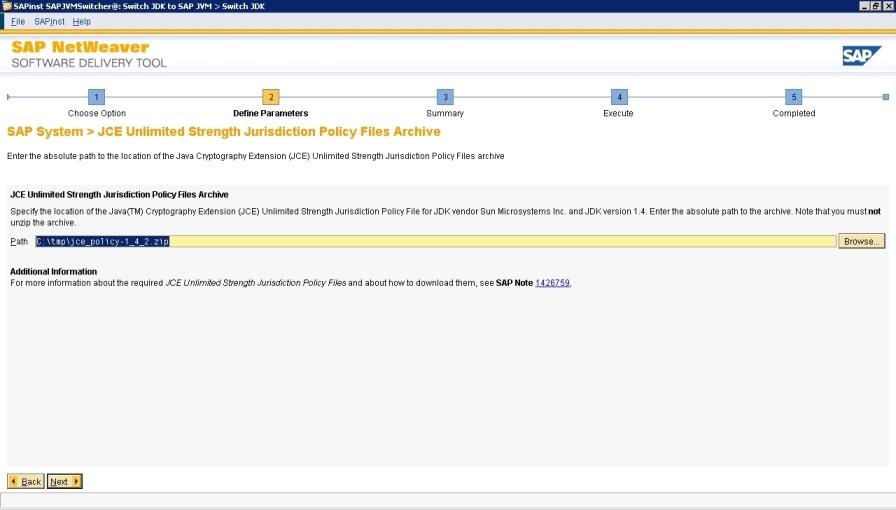 SAPJVM Switch Tool - Software Logistics - SCN Wiki