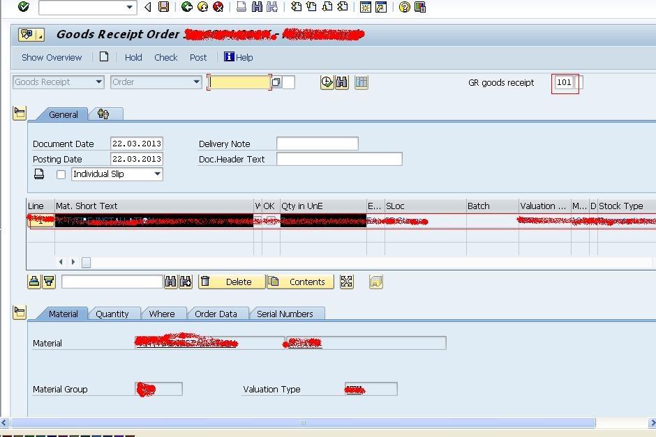 Goods Receipt Order MIGO ABAP Development SCN Wiki – Receipt for Goods
