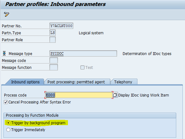 Increasing performance of idoc inbound processing - ABAP ...