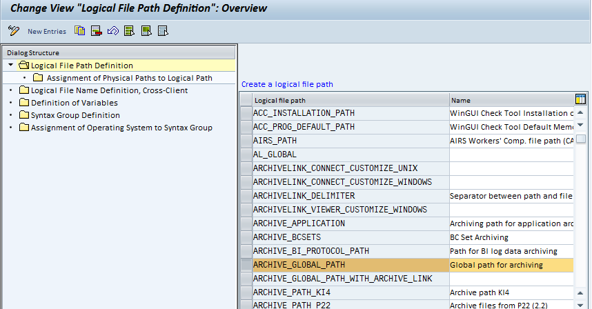 How To Define Logical And Physical File And Path Names For
