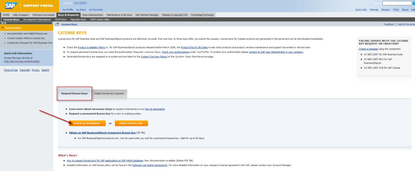Sap Businessobjects License Keys Service Marketplace Community Wiki