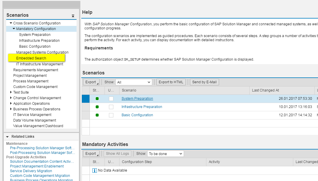 Full-Text Search with TREX - SAP IT Service Management on
