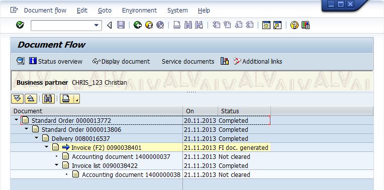 document invoice