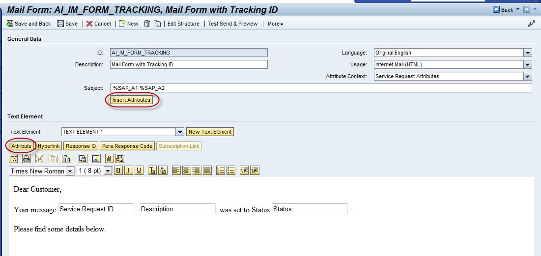 E Mail Inbound Configuration Alm Incident Management