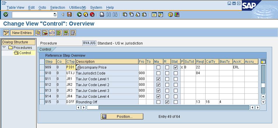 Tax jurisdiction - ERP SD - SCN Wiki